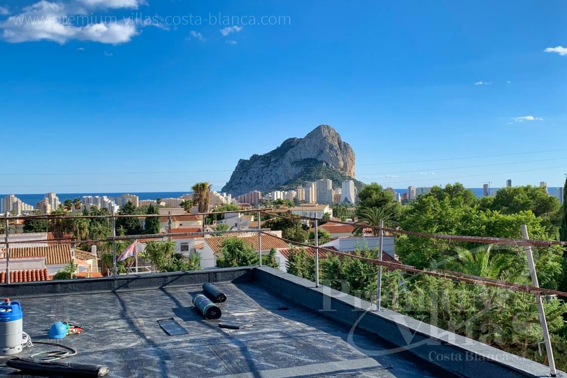 Buy modern villa with sea views in Ortenbach Calpe - C2240 - Modern villa in urbanization Ortenbach in Calpe 6