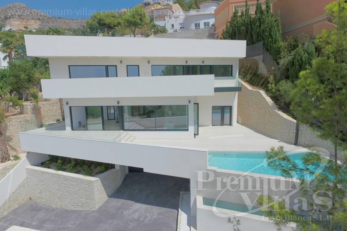 Buy house villa property Altea Hills Costa Blanca - C2138 - New construction of a modern villa in Altea Hills with fantastic views 1
