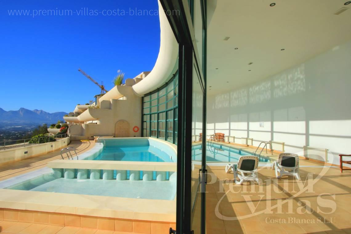 Buy penthouse in urbanization Bahía I Altea Hills - A0635 - Super luxury apartment with sea views in Altea Hills 4