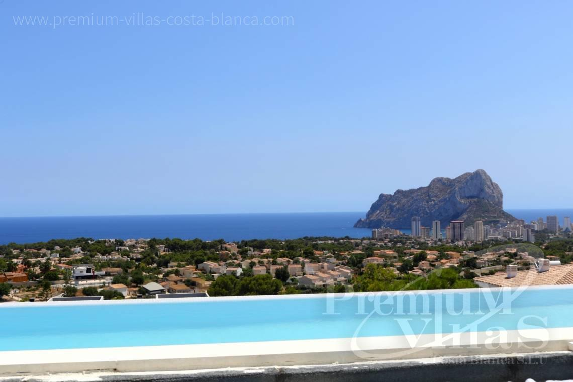 Buy a modern villa with sea views in Calpe Costablanca - C2080 - Modern villa for sale with spectacular sea views in Calpe 3