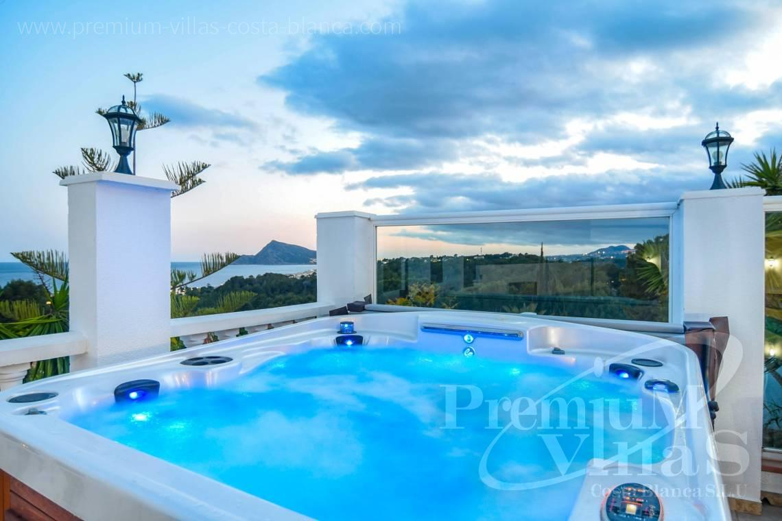 Luxury villa for sale near Marina Greenwich Altea - C2305 - Luxury villa with sea views in the Sierra de Altea 31