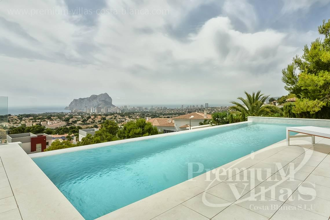 Buy a modern villa with sea views in Gran Sol Calpe - C2080 - Modern villa for sale with spectacular sea views in Calpe 26