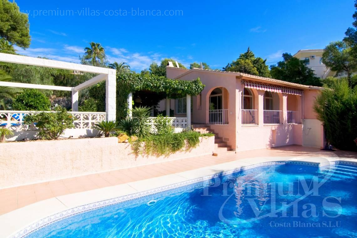 house villa for sale Altea Costa Blanca Spain - C2129 - Privately located villa with sea view and beautiful garden in Altea 27