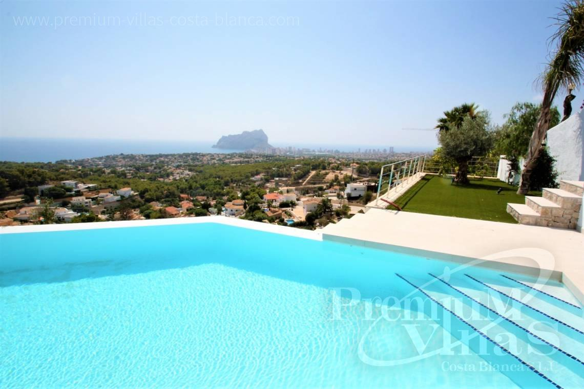 Buy  modern villa near the sea in Benissa Costablanca - C2076 - Modern villa in Benissa with fantastic sea views 25