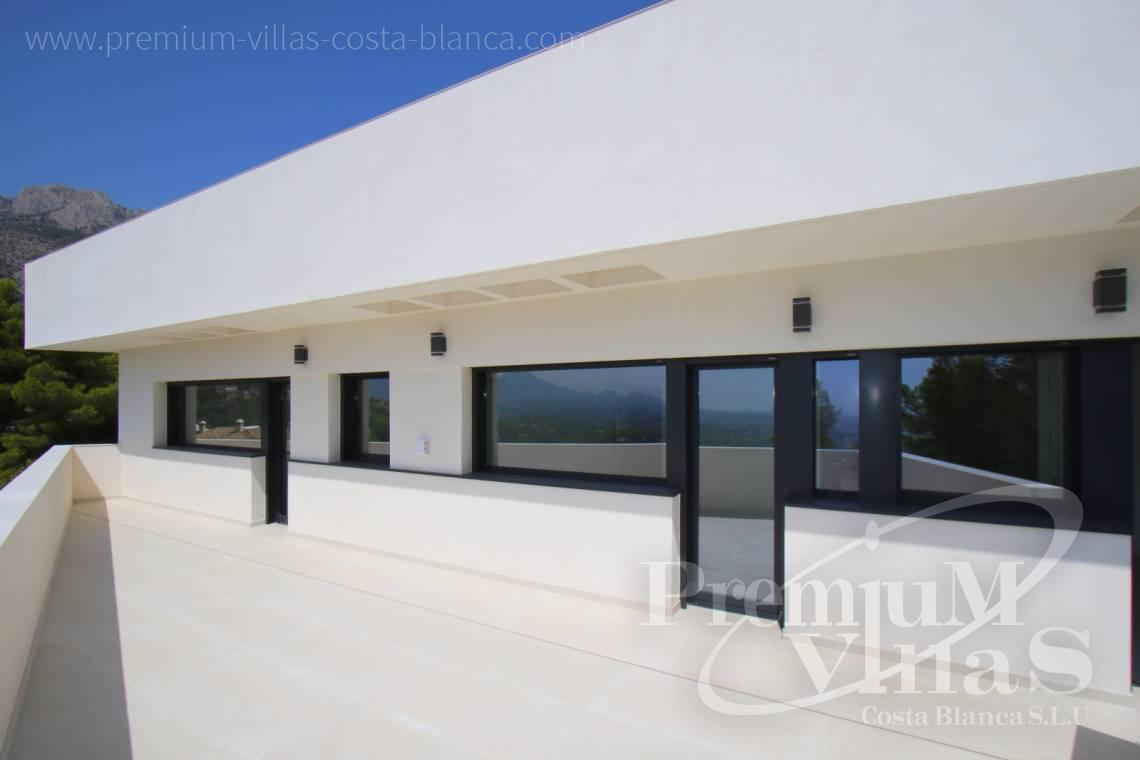 - C2138 - New construction of a modern villa in Altea Hills with fantastic views 5