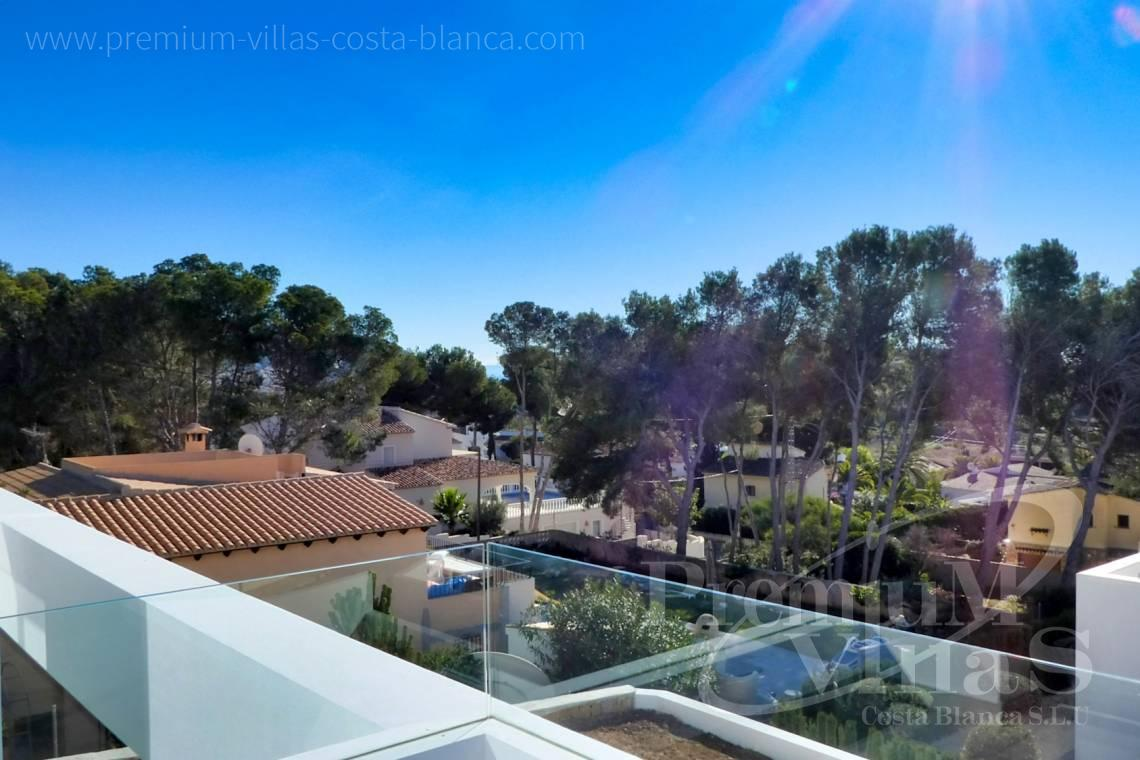 Modern villa for sale in urbanization El Bosque in Moraira Spain - C2176 - Modern villa in Moraira close to the beach and the golf course  2