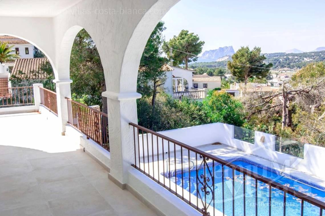 Buy Villa house Benissa Moraira Costa Blanca - C2152 - Refurbished house with sea views only 1.700 m from the beach and the centre of Moraira 2