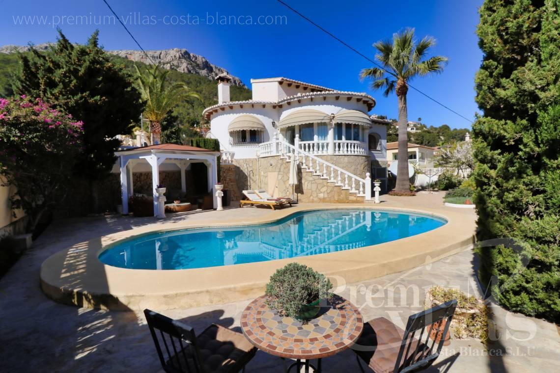 Buy Mediterranean villa in Cucarres Calpe - C2265 - Sea view mediterranean villa 3 bedrooms in Calpe 1