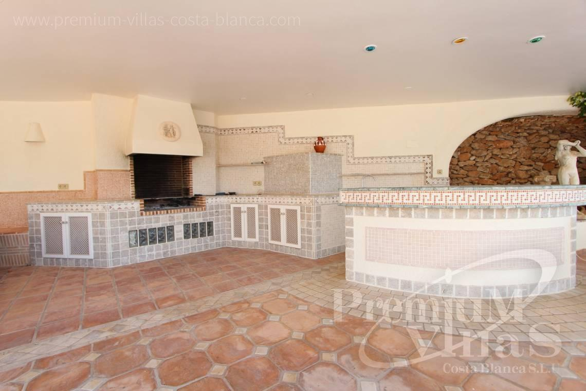 Villa house with outdoor kitchen for sale in Benissa Costablanca - C1495 - Luxury villa close the sea with a guest accomodation in Benissa 7