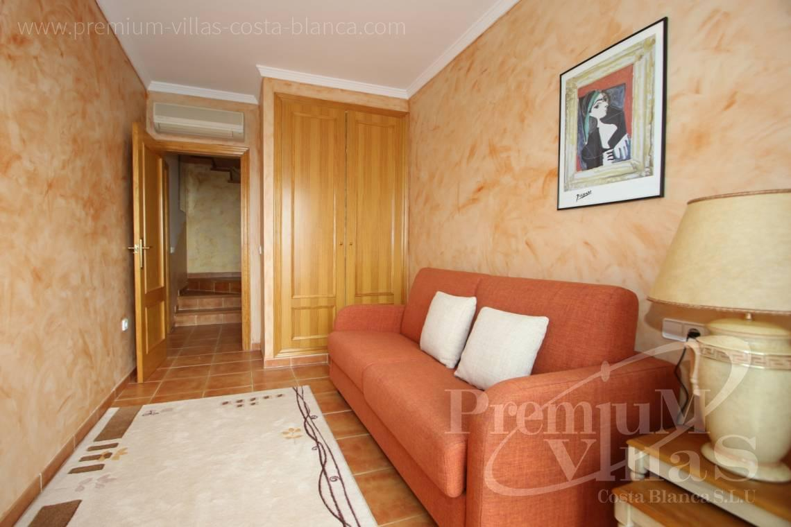 - C2086 - Cosy townhouse with wonderful sea views in the Sierra of Altea 10