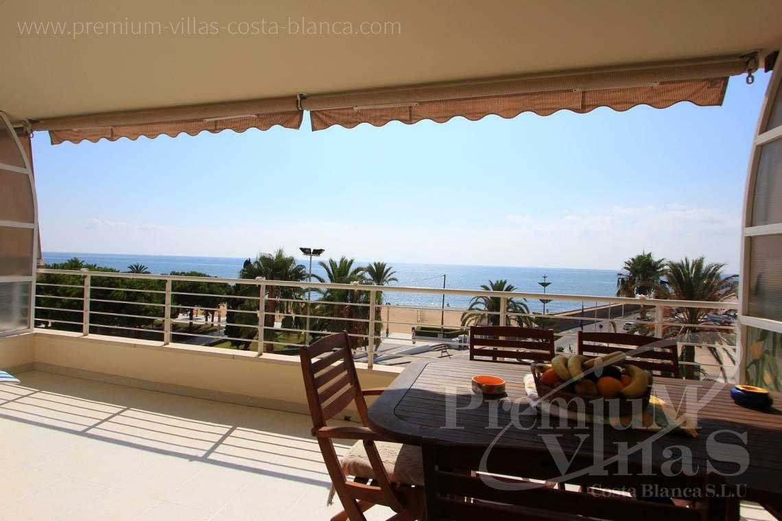 3 bedroom apartment for sale at the sea front Altea Costablanca - A0398 - 1st line apartment in Altea, only 30m from the beach with great sea view 1