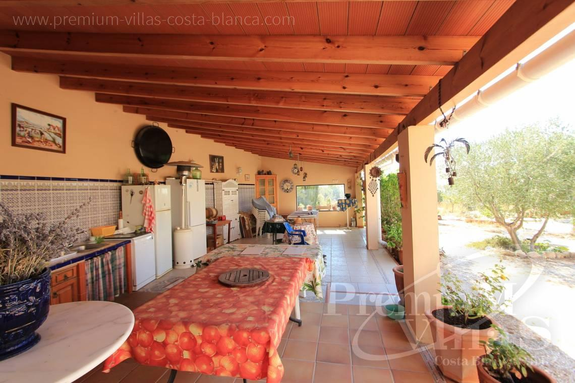 buy finca land house  Benissa Costa Blanca - C1826 - Spacious country house with two guests studios ideal place for horses 8