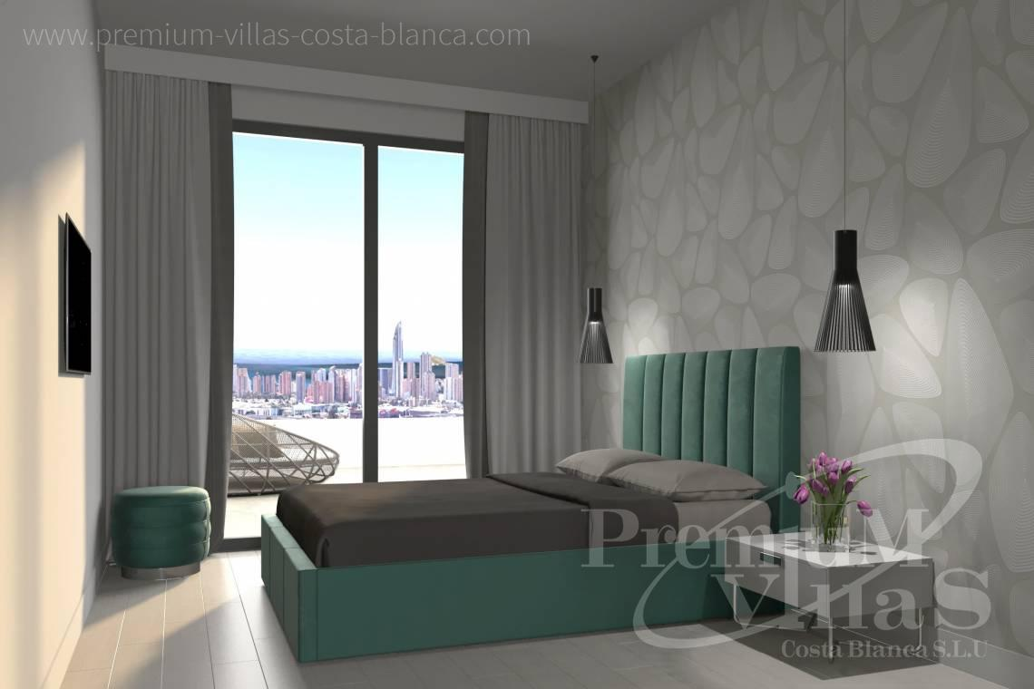 - A0622 - 2 bedrooms apartments with sea views in Finestrat 16