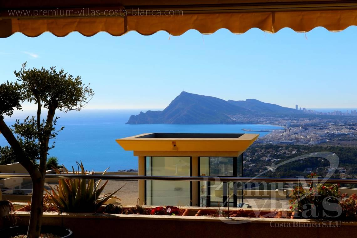 Duplex penthouse apartment sea views Altea Costablanca - A0562 - Nice apartment in the Sierra Altea with beautiful sea views 14