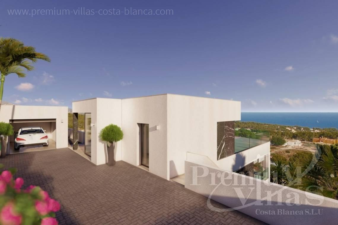 House in Calpe near the sea for sale - C2390 - Modern villa with elevator and sea views in Calpe 11