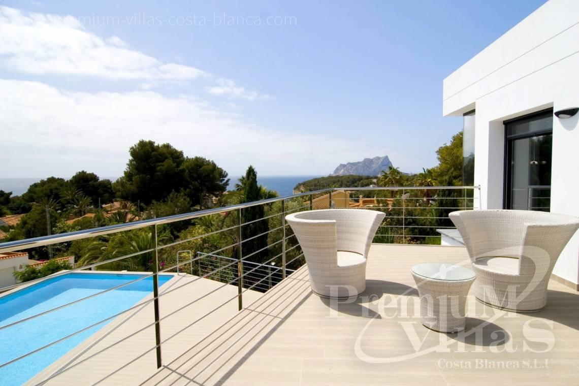 Modern villas with sea views in Benissa Costablanca - C2002 - Modern villa for sale near the sea 1