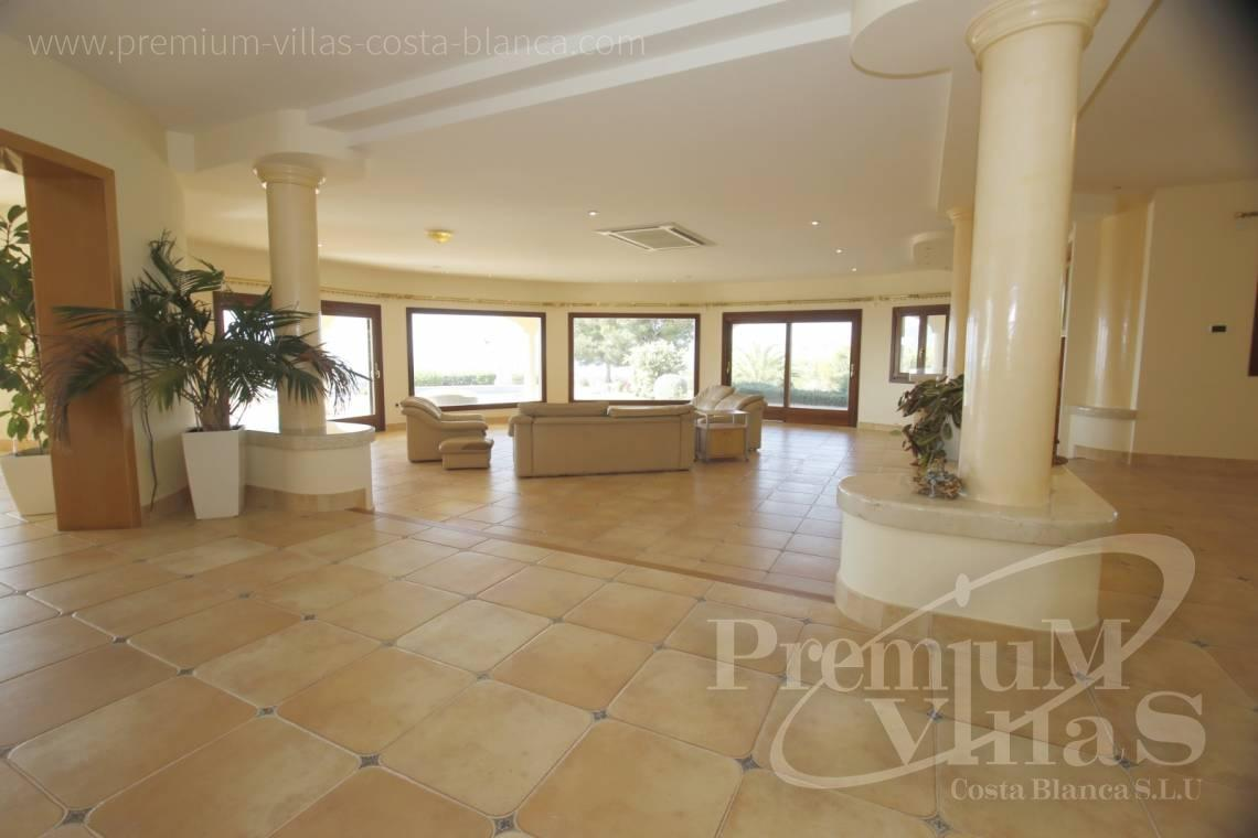buy villa house Costa Blanca Spain - C2174 - Luxury mansion on 3 levels with elevator and sea views in Calpe 7