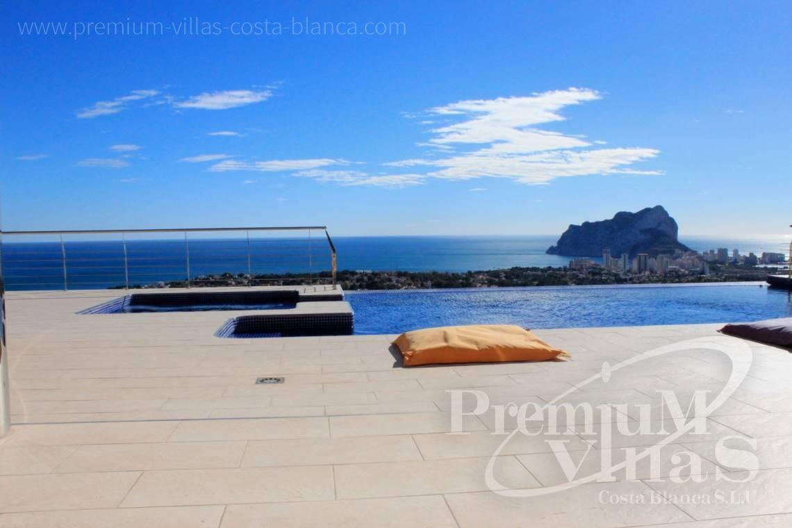 Buy 6 bedrooms villas house sea view in Benissa Costa Blanca  - C1506 - Mansion in a top location with separate guest house in Benissa 12
