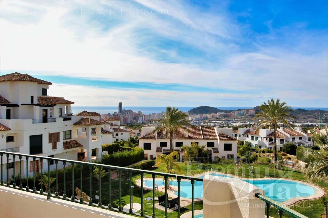 Buy apartment close to the Golf in Finestrat Costa Blanca - A0629 - 1 bedroom apartments with sea views in Finestrat 3