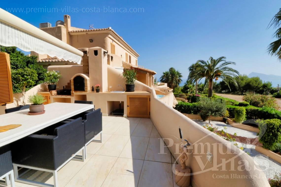 Buy bungalow with sea views in Altea Hills - A0561 - Beautiful duplex apartment in Altea Hills with sea views  1