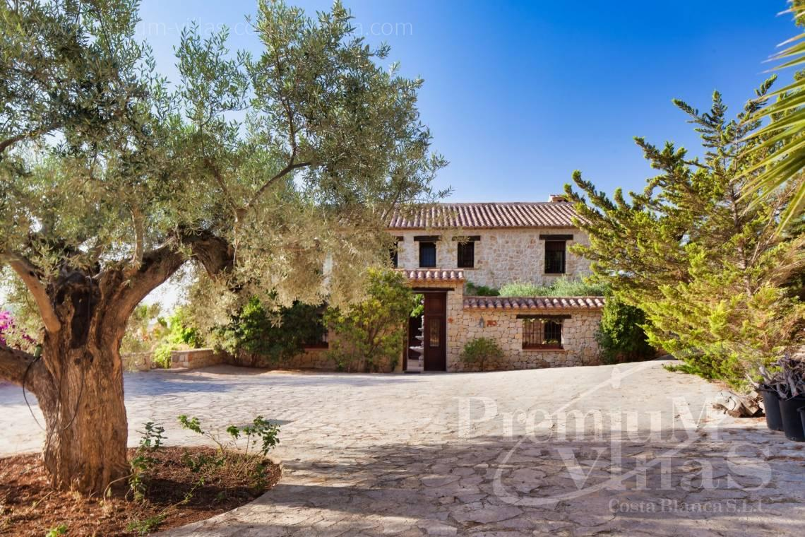 finca land house for sale Benissa Costa Blanca - CC2338 - Finca with sea views in Benissa 29