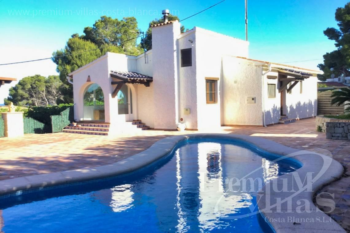 Low-cost Mediterranean house in Benissa Costa Blanca - CC2307 - Mediterranean house with sea views in Benissa Costa 1