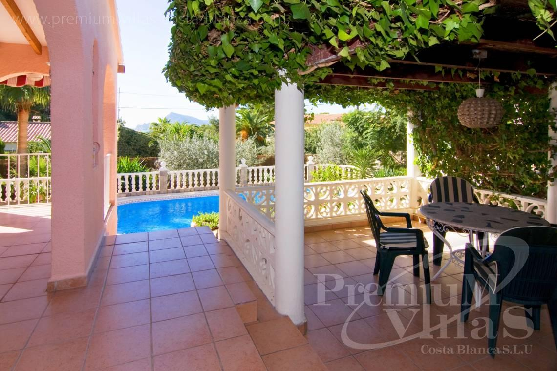 Villa for sale in the Sierra de Altea Costa Blanca - C2129 - Privately located villa with sea view and beautiful garden in Altea 20