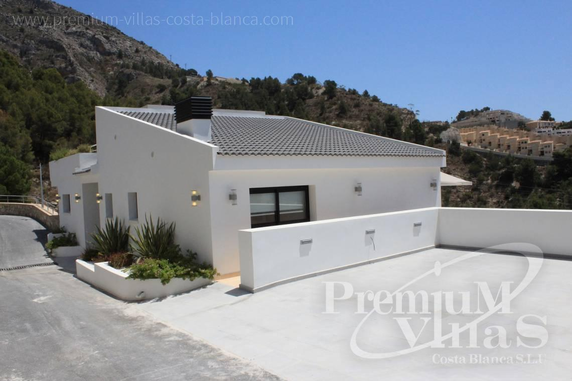 modern house Altea Costa Blanca - C1595 - Six modern luxury villas under completion with very nice sea views 3