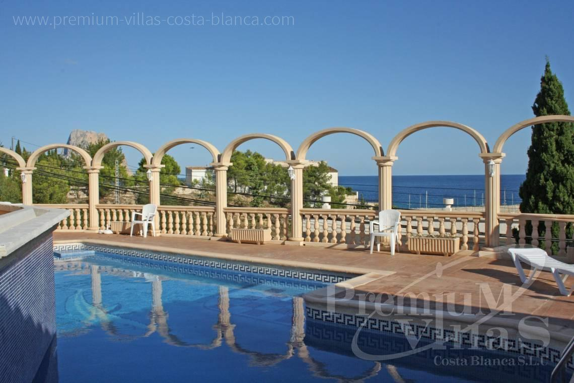 Buy villas houses sea view Calpe Costa Blanca - C1697 - Property of 8 apartments only 150 meters away from the harbor, Calpe 3