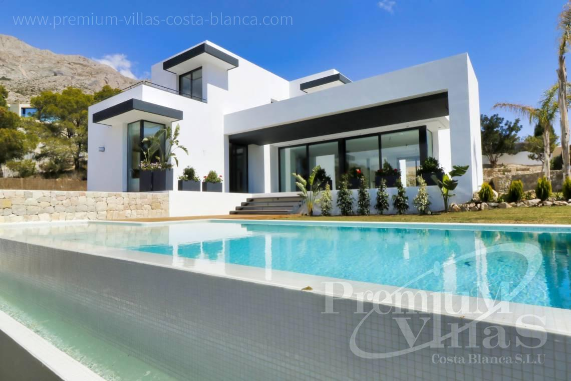 For sale modern villa with sea views in urbanization Monterico Altea - C2283 - New built modern villa in Altea La Vella 3