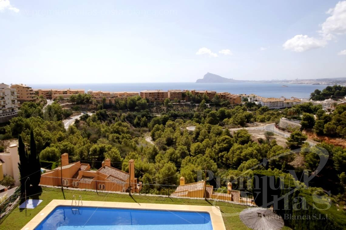 buy house villa Altea Costa Blanca Spain - C2211 - Bungalow in Altea 1000m from the sea, with stunning sea views. 1