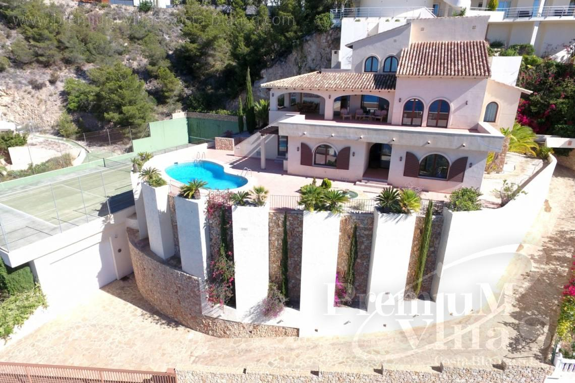 Buy house villa property Altea Hills Costa Blanca - C1962 - Mediterranean villa on a top location in Altea Hills with Tennis court 5
