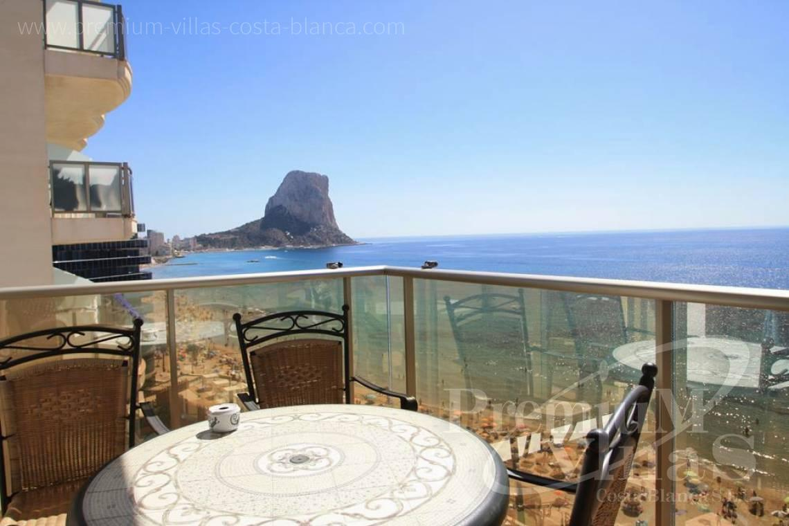 Buy first line beach apartment in Calpe Costa Blanca - AC0652 - First line beach apartment in Calpe 2