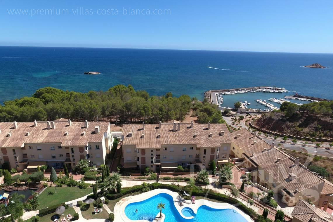 buy apartment  2 bedrooms Altea Costa Blanca Spain - A0399 - Altea, apartment at only 200 m from the beach with sea views 1