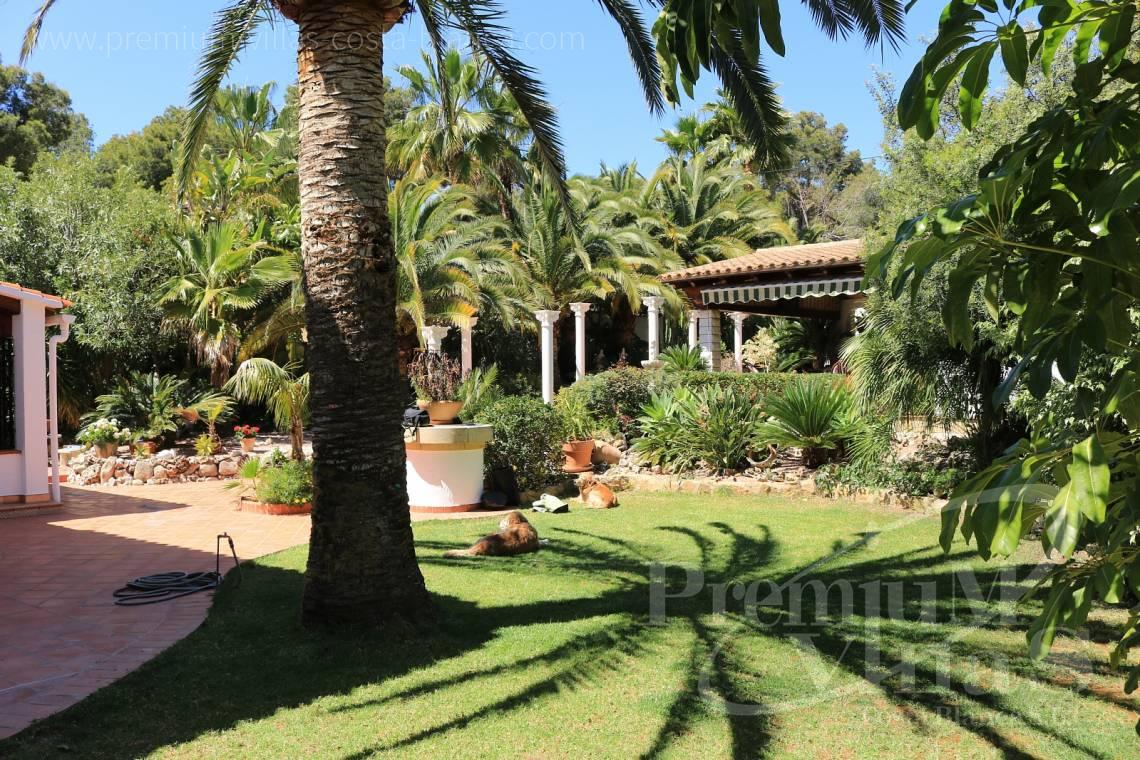 - C2151 - A real paradise on a double plot only 900m from the sea in Benissa 4