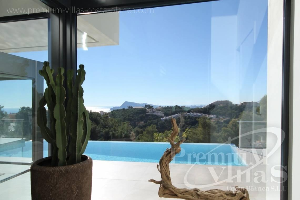 property for sale Altea Hills - C2172 - Newly built luxury villa in Altea Hills with panoramic sea views. 4