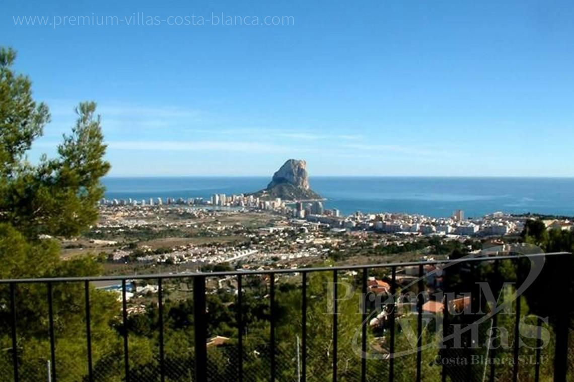 Buy villas houses sea view Calpe Costa Blanca - C1776 - Villa with amazing panoramic sea views in an elevated position. 2