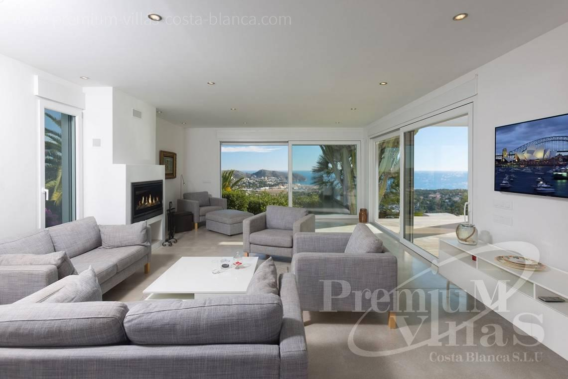 Buy modern villa in Moraira Costa Blanca - CC2385 - Modern villa with panoramic sea views in Moraira 10
