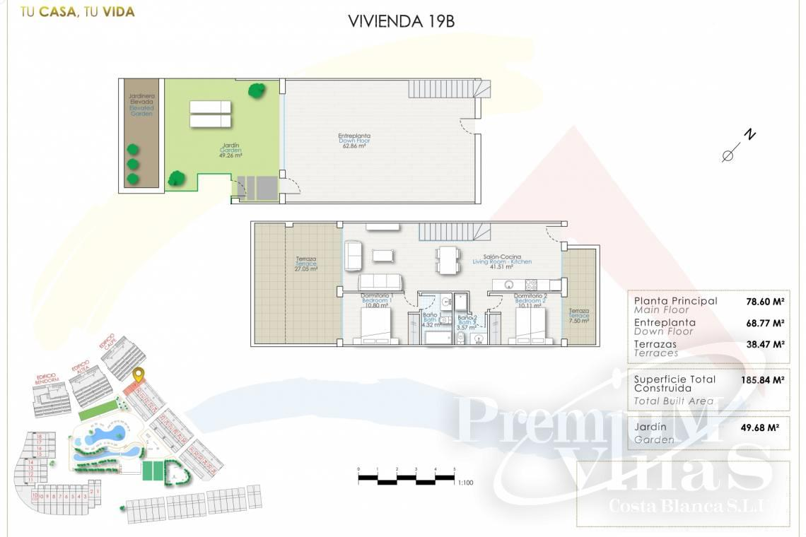 - A0623 - Duplex with garden or solarium in luxury urbanization in Finestrat 24