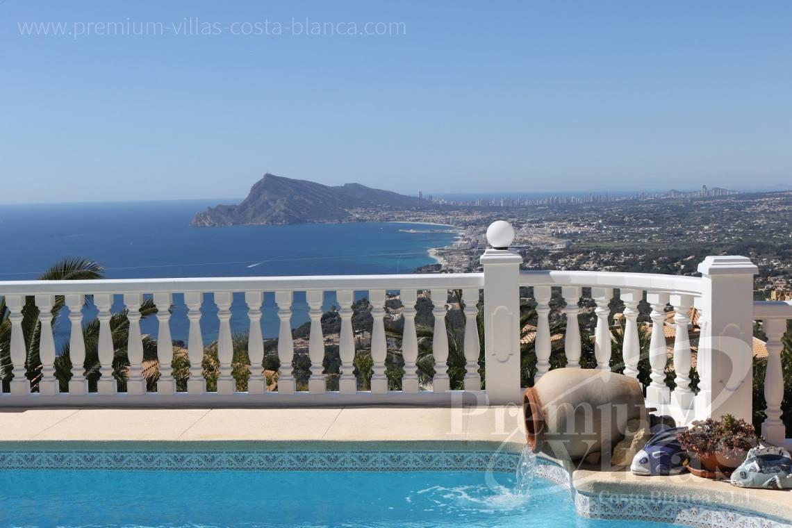 Villa for sale in Altea Costa Blanca  - C2041 - Location, location location! Fantastic villa in Altea Hills  2