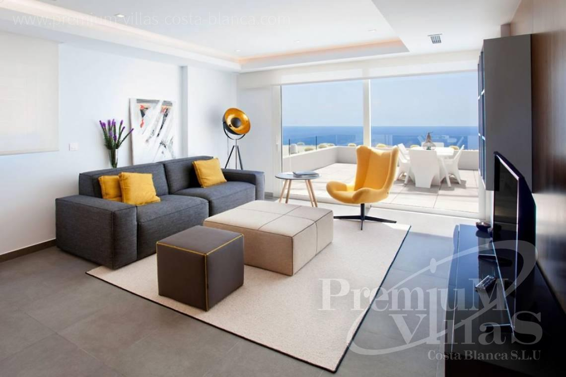 3 bedrooms apartment sea views Benitachell Costablanca - A0536 - Under construction: Modern and luxury appartments with large terraces 7