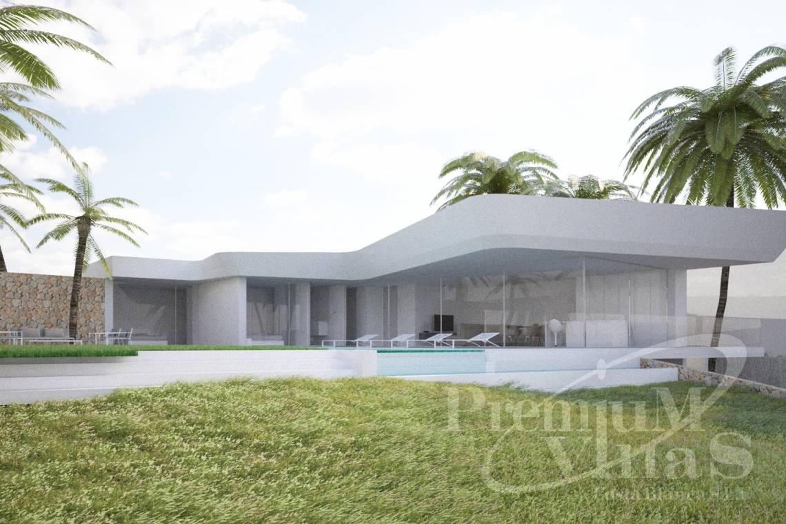 buy property Moraira Costa Blanca - C1802 - New construction! Modern house in Benissa for sale 1