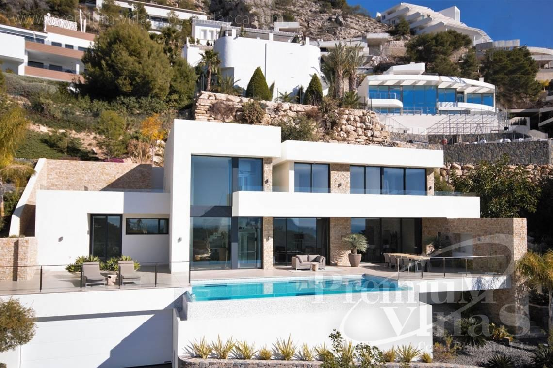 Buy house villa mansion luxury Altea Costa Blanca - C2172 - Newly built luxury villa in Altea Hills with panoramic sea views. 2