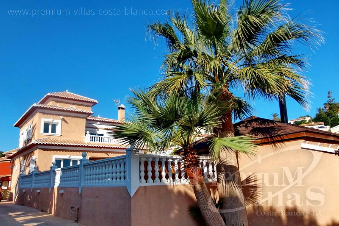 House villa for sale Calpe Costa Blanca - C1849 - Villa located only 200m from the beach and sports harbour in Calpe 7