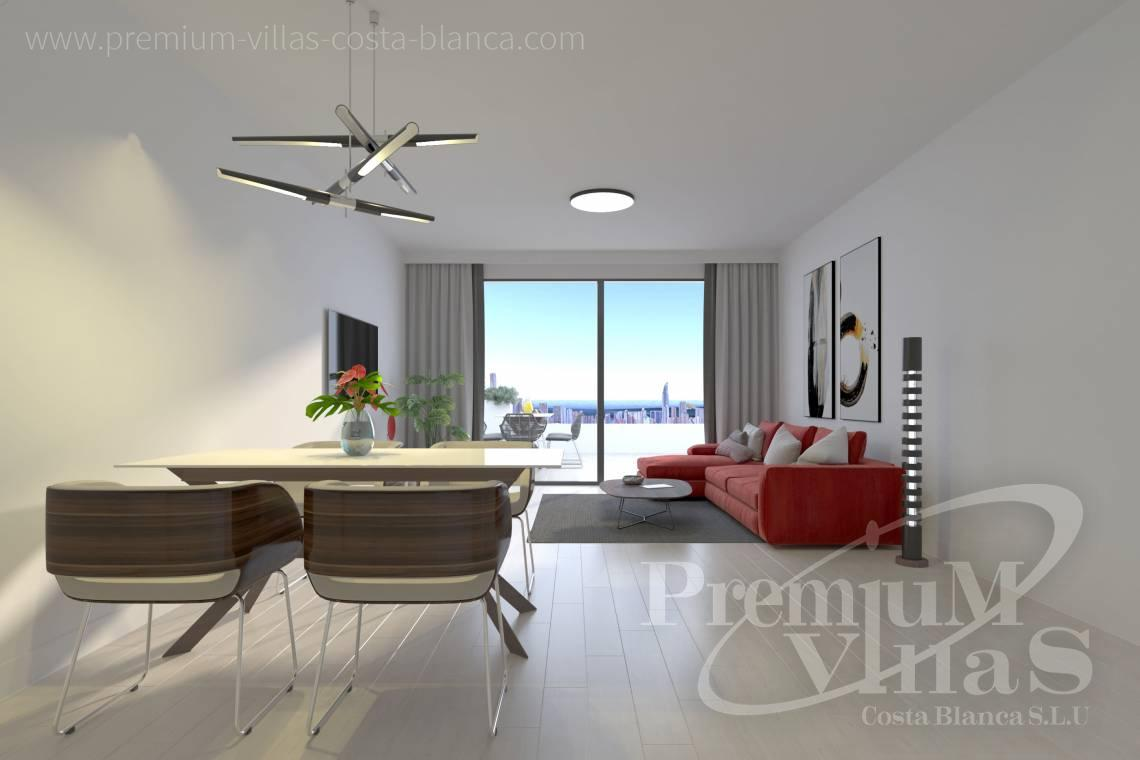 - A0622 - 2 bedrooms apartments with sea views in Finestrat 13
