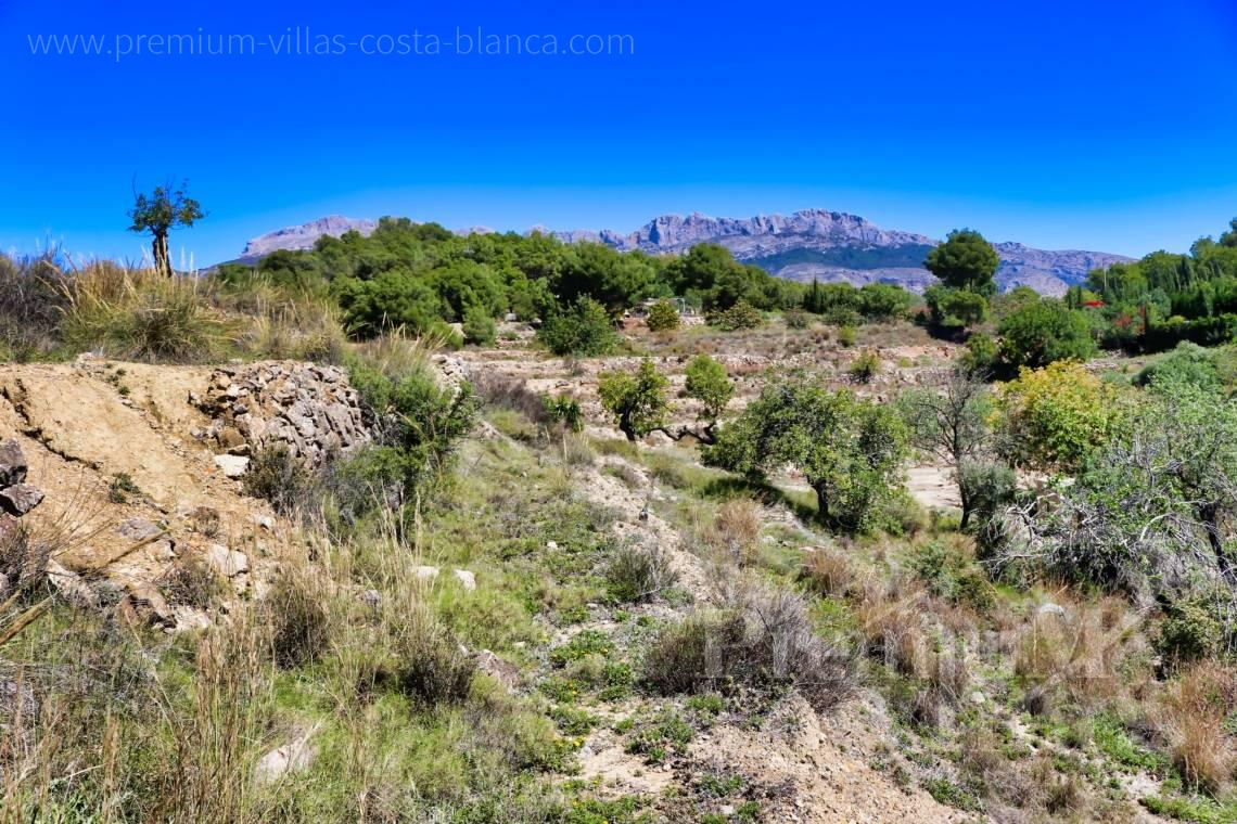 - 0207G - Plot of 20000sqm close to the old town of Altea 9