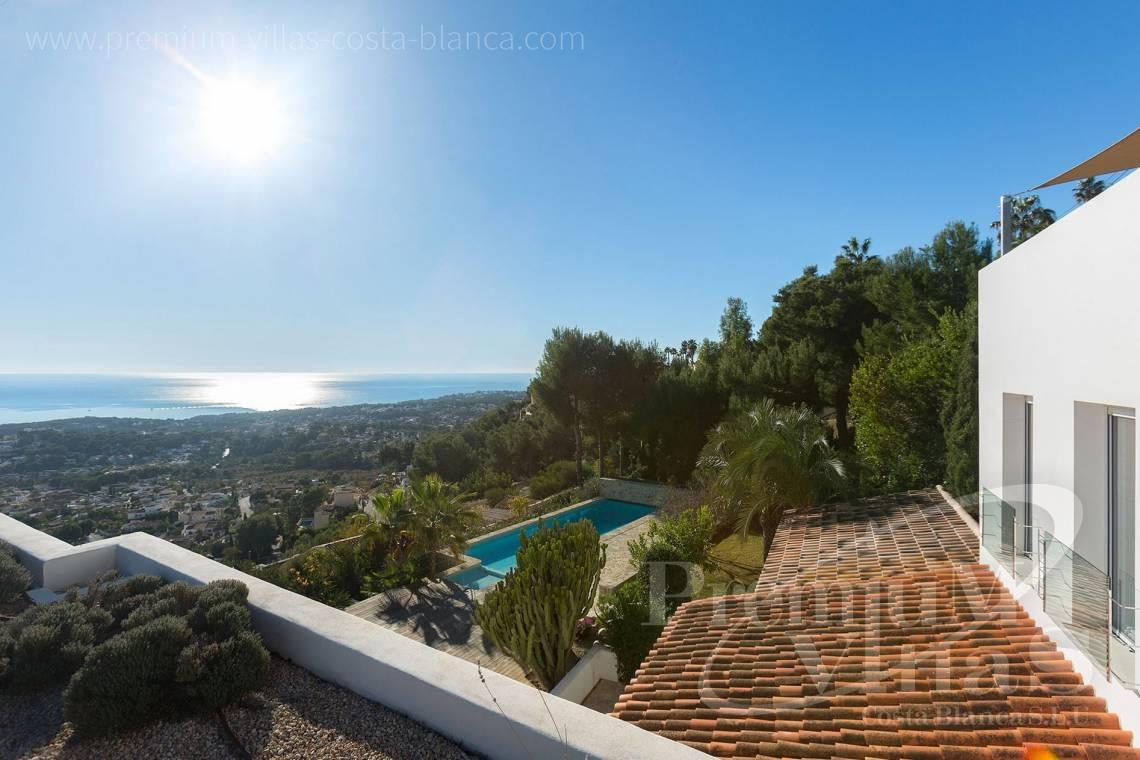 buy villa house Costa Blanca Spain - CC2385 - Modern villa with panoramic sea views in Moraira 5