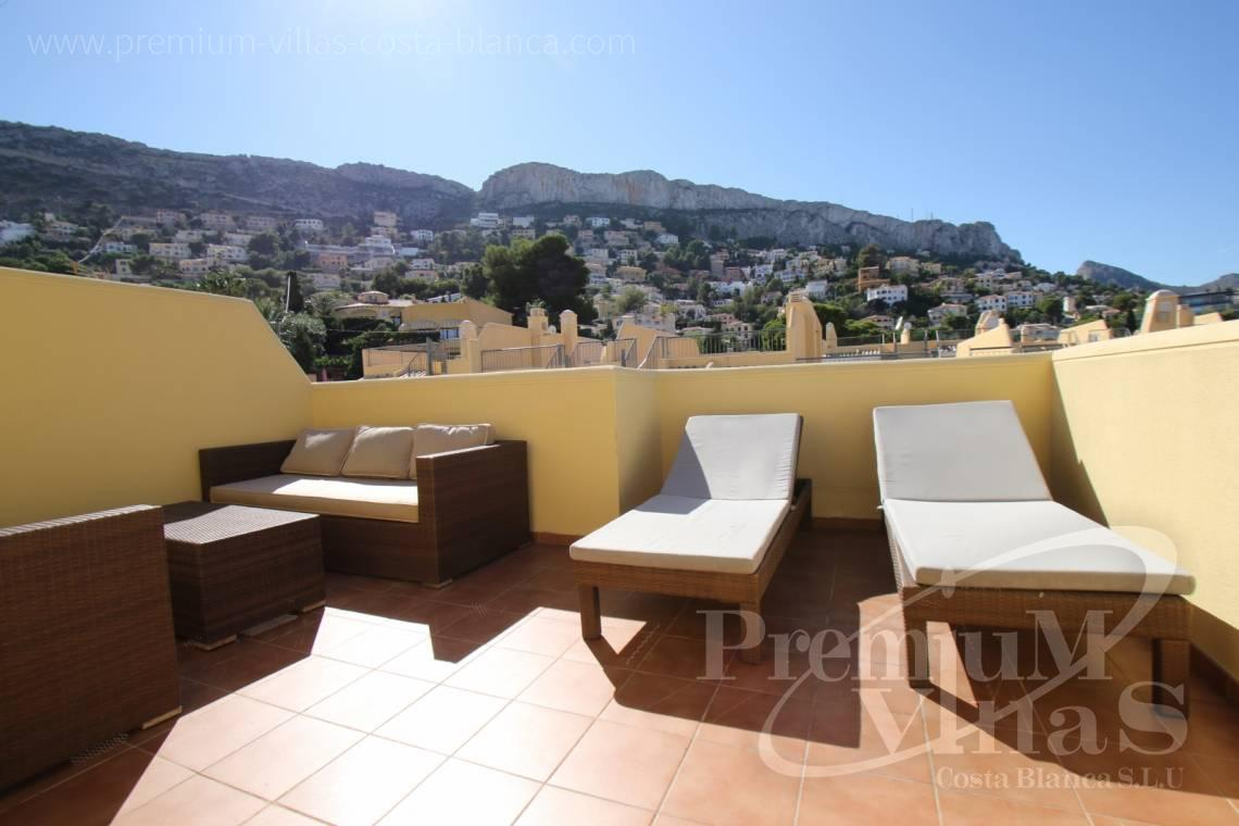 Terraced house near the sea in urbanization Montesol de Calpe - C2091 - Corner Bungalow in Urb. Montesol in Calpe 19