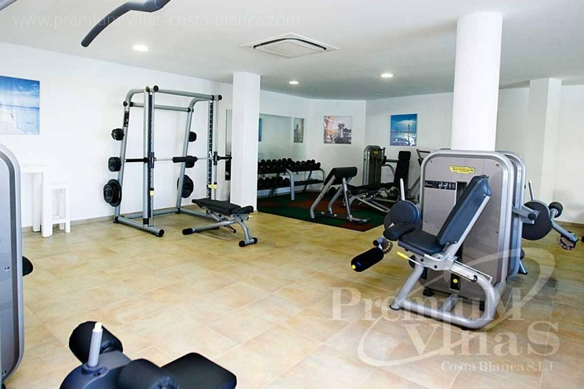 Apartment in a luxury residential with fitness room in Mascarat Altea - A0606 - Seafront apartment in residential Mascarat Beach 23