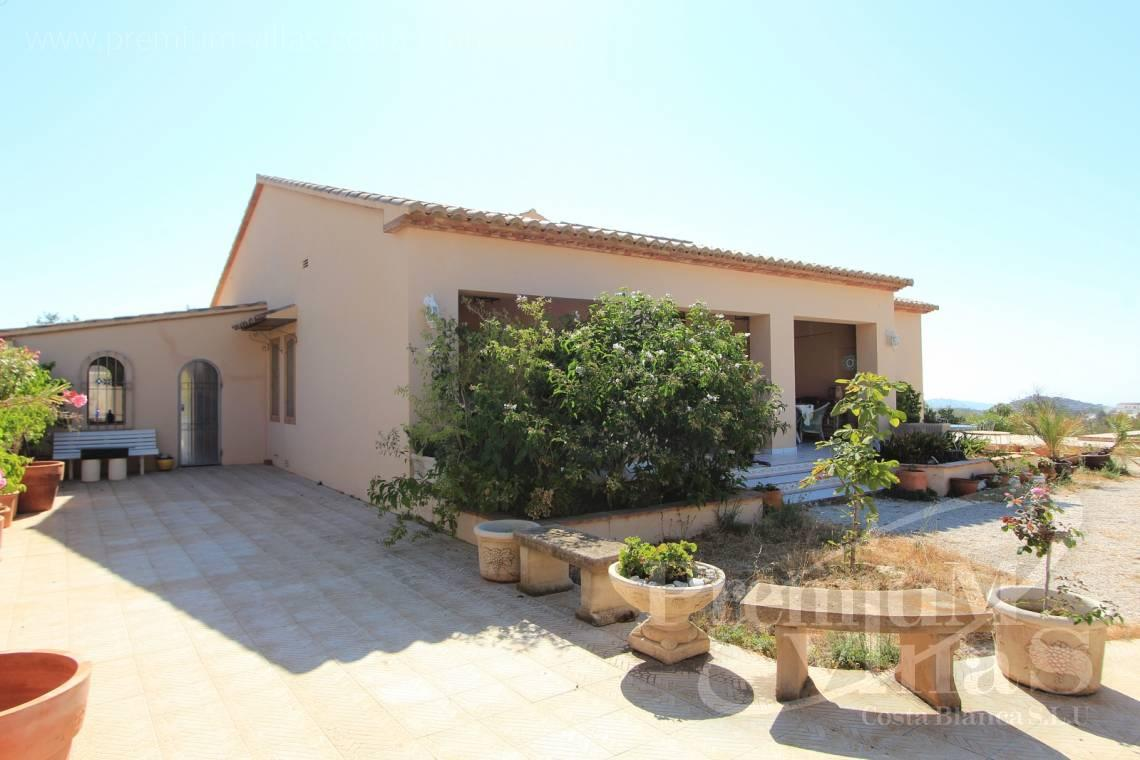 buy 4 bedrooms finca land house Benissa Costa Blanca - C1826 - Spacious country house with two guests studios ideal place for horses 4